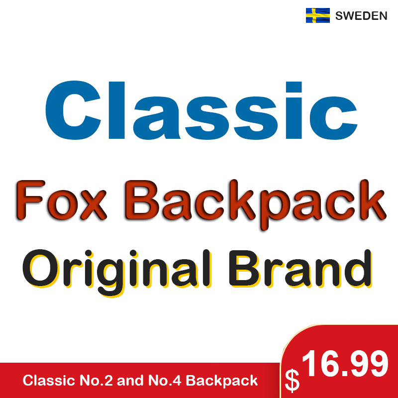 Classic Original Brand Fox Backpack Men Women Waterproof Backpacks Fashion Laptop Travel Bags Teenage Students Schoolbag Mochila
