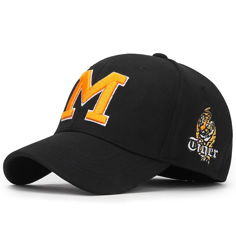 High Quality Hip Hop Baseball Cap M Embroidery Adjustable Golf Caps Unisex Wild Caps Snapback Hats Sun Hats Bone Trucker Caps