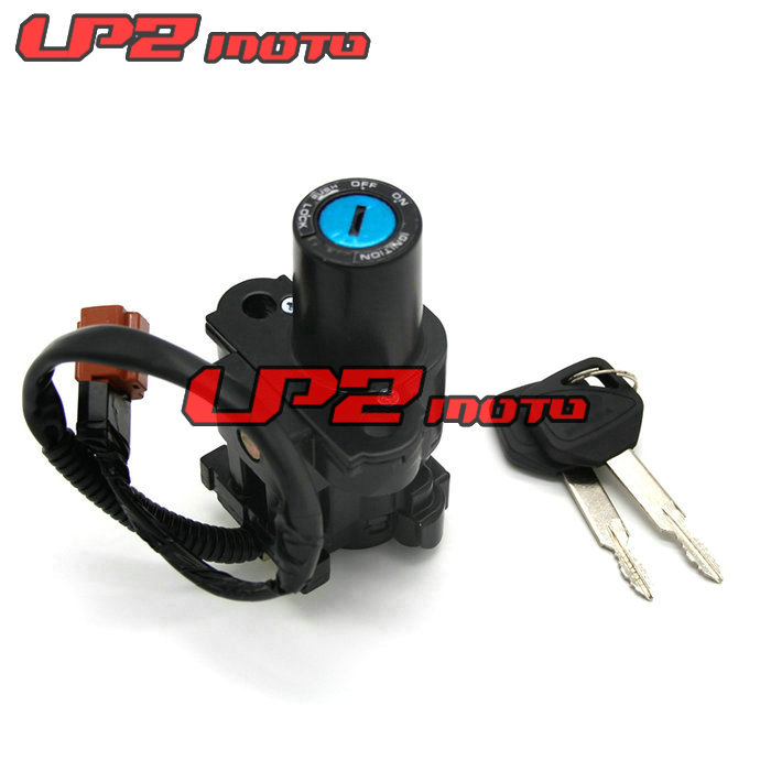 Motorcycle Motorbike Ignition Switch Key with Wire Electric Door Lock For HONDA CB600F HORNET600 2007 2011
