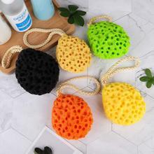 2Pack Bath Shower Sponge Loofah Bath Poufs Body Scrubber Cleaning Exfoliating Natural Luffa Puff  Sea Sponges