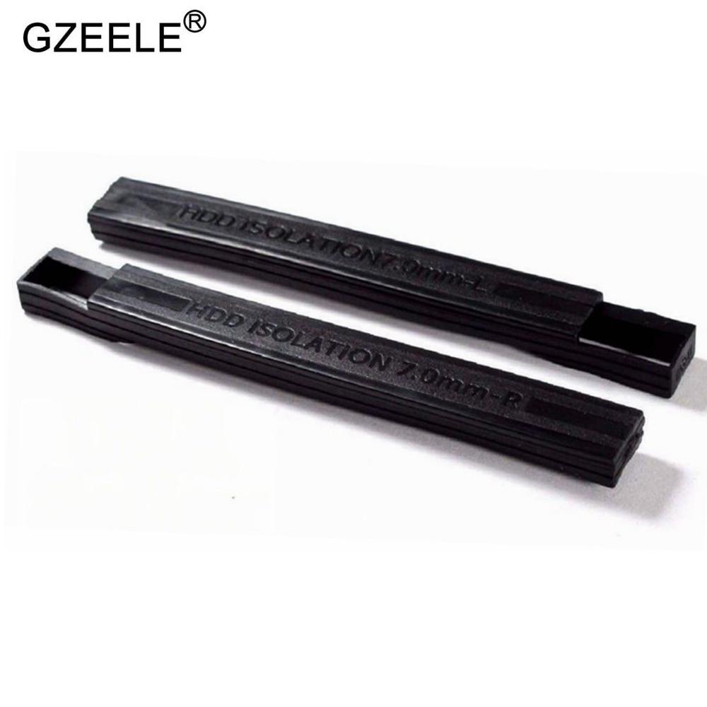 1 screw Dell Latitude E6540 Hard Drive Caddy Cover 7mm Isolation Rubber Rails
