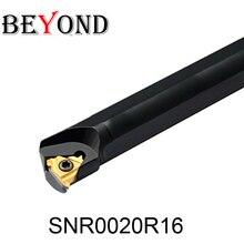цена на BEYOND SNR Lathe Internal Threading Turning tool holder lathe cutter 20mm Boring Bar Carbide inserts CNC SNR0020R16 SNL0020R16