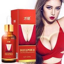 Nowy olejek eteryczny do powiększania piersi wzmocnienie piersi powiększenie duży biust powiększanie większy masaż klatki piersiowej dla kobiet 30 ML