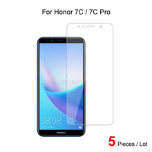 For Huawei Honor 7C Pro / Honor 7C Tempered Glass Screen Protector Guard Protective Glass Film For Huawei Honor 7C Pro 2pcs for huawei honor 7c pro honor 7c full cover tempered glass screen protector protective glass for huawei honor 7c pro
