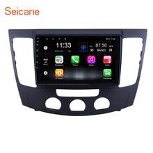 Seicane – autoradio Android 10.0, navigation GPS, 9 pouces, lecteur stéréo, A/C, manuel, compatible caméra arrière, TPMS, pour voiture Hyundai Sonata (2009)