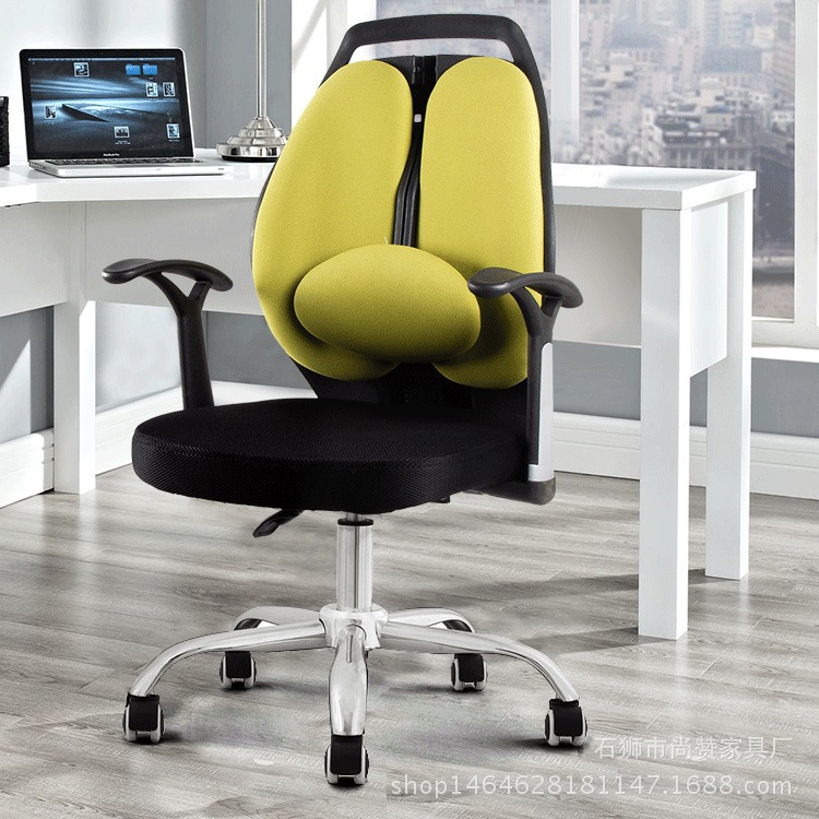 Special Price Korean Style Computer Chair Double Backrest Recliner Wu Xiu Yi Ergonomic Office Household Robam Office Gaming Chai