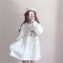 Весенние платья Лолиты 2020 японское милое белое платье с принтом