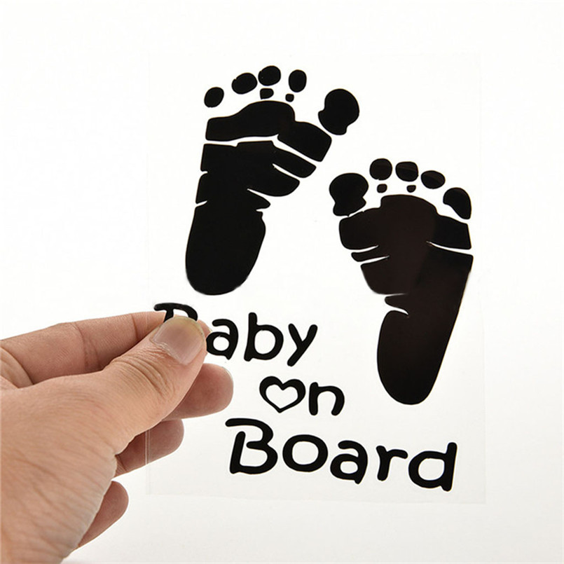 Quality Baby On Board Vinyl Car Graphics Window Vehicle Sticker Decal Decor Auto Funny Stickers 30Ag13 (11)
