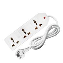 New Travel Adapter Eu Vs Au Uk Plug Socket Universal Ac Stekkerdoos Multifunctionele Verlengsnoer 0.5/1/1.5/2/3/5M 3500W