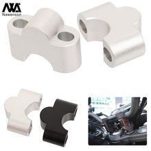 Motorcycle Handlebar Riser Aluminum Extension Clamp Kit Adapters Brackets for Yamaha MT07/FZ07/Tracer 700 2014-2017