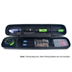 Image 5 - Чехол для удочки, водонепроницаемая задняя Сумка для ловли нахлыстом, плота, рыбалки, ударопрочный чехол для хранения удочки