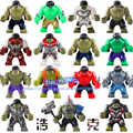 50pcs grande taille super héros figurines hulk Thanos Venom Hulk fer homme araignée homme blocs de construction jouets br275