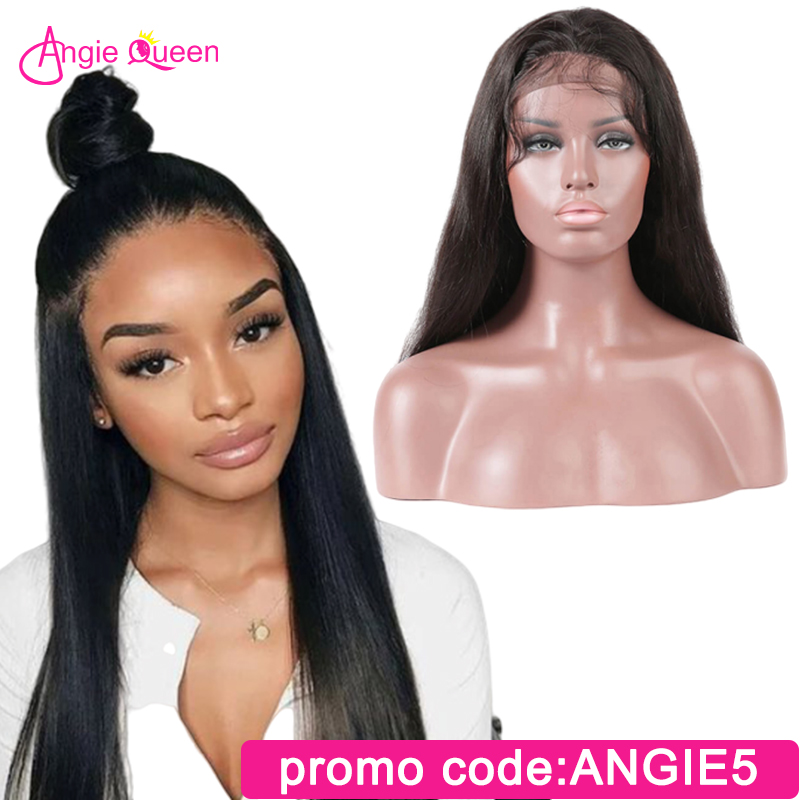 Straight Lace Front Human Hair Wigs Malaysian Human Hair Wigs Remy Hair Lace Front Wig 150%  Closure Wig 10 12 14 16 18 20 22 24