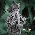 Пираты из смолы  Карибский Капитан Дейв Джонс  статуя осьминога  бюст  деревенский домашний декор  Морской Декор для дома  товары для рукодел...