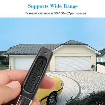 433MHZ 4 klawisze otwierania drzwi samochodu pilot zdalnego sterowania elektrycznego bramy garażowe drzwi klonowanie powielacz pilot do otwierania klucz kopia nadajnik 4 tanie i dobre opinie kebidumei 2 8inch 5 9inch 433Mhz Wireless Remote Control metal+plastic 433 92 mhz Duplicator Copy Remote Control 0 03kg