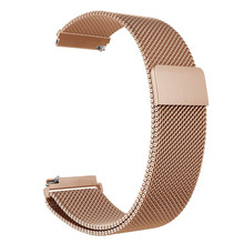 For Galaxy Watch 46mm / Gear S3 Frontier Classic Band 22mm 20mm Milanese Loop Stainless Steel Bracelet Wrist Strap for Gear S2 laforuta milanese loop strap for gear s3 frontier classic watch band 22mm 20mm 18mm stainless steel mesh samsung galaxy 46mm