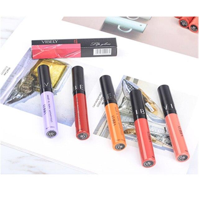 28 Color Matte Lipstick Waterproof Lipstick Liquid Lip Gloss Sexy Lip Makeup Professional Cosmetic Lipstick Set 3