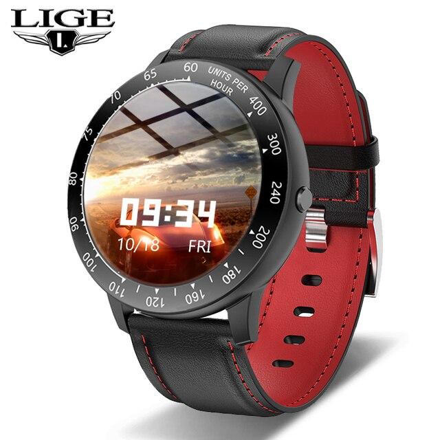 LIGE 2020 New Smart Watch Men Women Watch Heart Rate Monitor Music Control For Android/iPhone IP68 Waterproof Sport Smartwatch 1