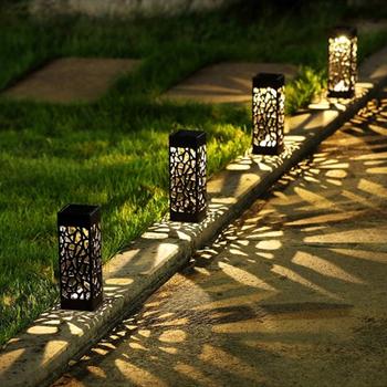 Led oswietlenie ogrodu słonecznego dekoracja lampa trawnikowa na zewnątrz domu ścieżka żarówka czujnik wodoodporna uliczna lampa solarna lampy słoneczne tanie i dobre opinie ZAOYUAN CN (pochodzenie) Żarówki LED Tradycyjne HOLIDAY
