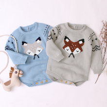 Fall Winter Children Soft Warm Sweaters Baby Boys And Girls Clothes Knitted Pullover Jumpers Outfits Sweater 6-12M New 2020
