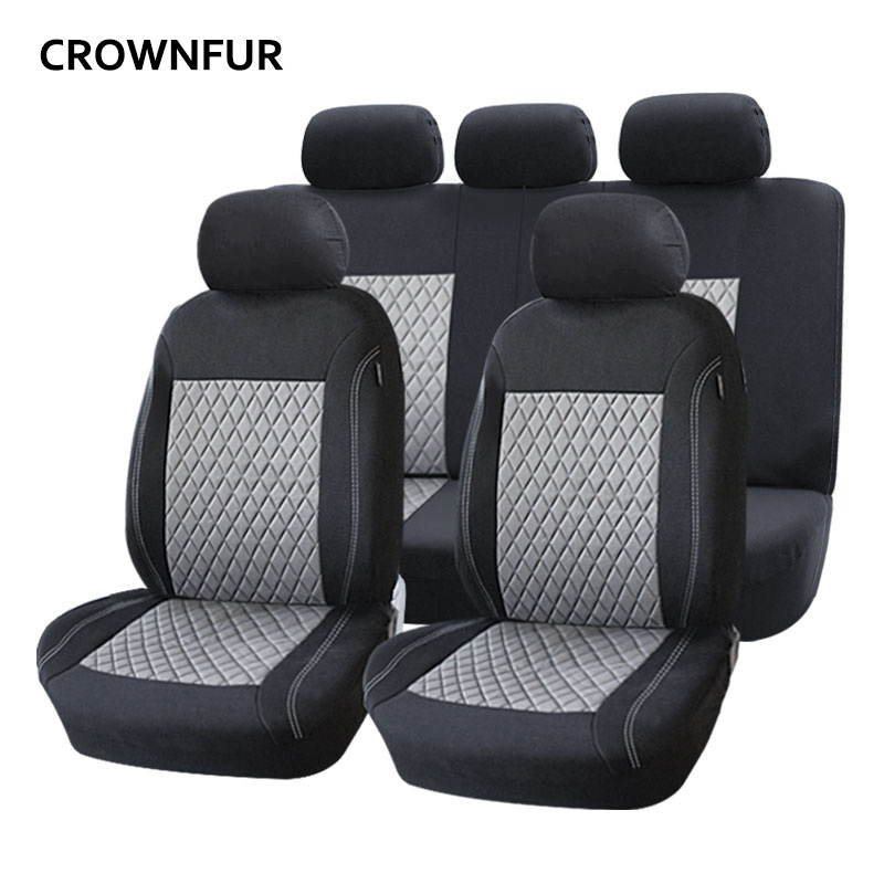 Universal car seat cover Fit for most cars High quality Automotive interior luxury car covers for Toyota BMW Mazda KIA Ford Audi car covers abs chrome front headlight lamp cover fit for 2012 2014 ford ranger car styling