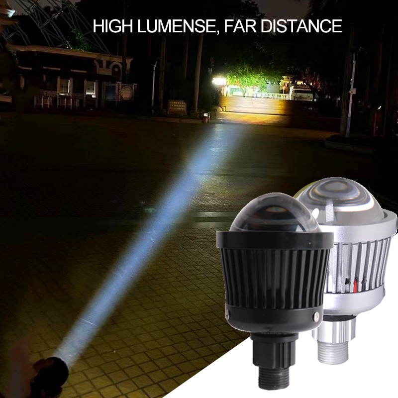 2pcs 12V K3 4300k 50W Car LED Projector Lens Headlight H7 9005 9006 H11 High Beam Light Spotlight Fog Light Car Light DIY