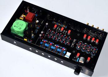 New MBL6010 Full Balance Remote Preamplifier HIFI XLR Pre-Amp With Remote Control / Using Original JRC5534 JRC5532