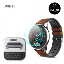 2Pcs Screen Protector For LEMFO ELF1/ELF2 Smart Watch 2.5D Clear Tempered Glass water-proof Scratch Resistant Screen Guard Film
