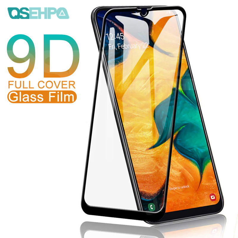9D Protective <font><b>Glass</b></font> For <font><b>Samsung</b></font> <font><b>Galaxy</b></font> A10 A20 A30 A40 A50 <font><b>A60</b></font> A30S A50S Screen Protector on <font><b>Samsung</b></font> A70 A80 A90 A40S A20E <font><b>Glass</b></font> image