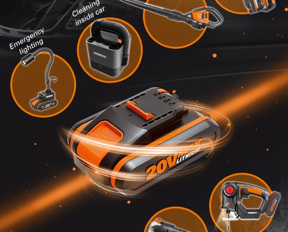 Worx Portable Car Vacuum Cleaner