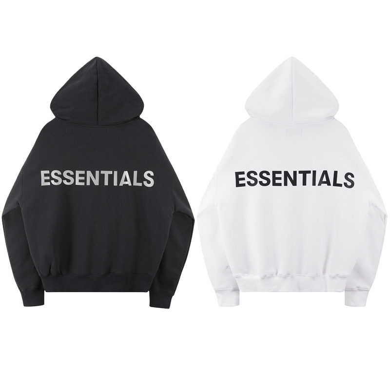 2020 Best Version Fog ESSENTIALS Logo Printed Women Men Hoodies Sweatshirts Hiphop Streetwear Men Hoodie Winter Fleeces