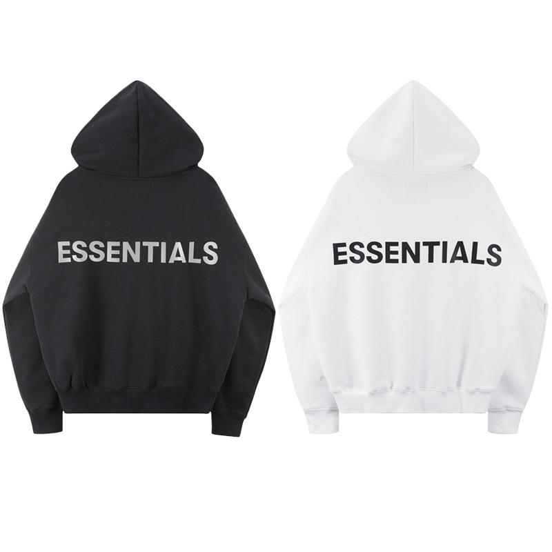 2020 Best Version Fog ESSENTIALS Logo Printed Women Men Hoodies Sweatshirts Hiphop Streetwear Men Hoodie Winter Fleeces