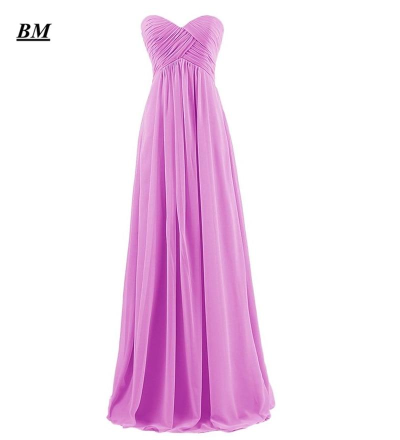 2019 élégant pas cher a-ligne en mousseline De soie robes De bal perlée longue formelle robe De soirée robe De soirée Vestidos De Gala BM97