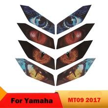 Motrocycle פנס מדבקות להגן על סרט עבור ימאהה MT09 MT 09 2017 ראש אור עיני הגנת מדבקות