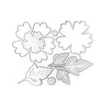 Flower Cutting Dies Stencil Metal Template Moulds Embossing Tool for Card Making Scrapbooking DIY Album Paper glorystar halloween coffin cutting dies stencil metal mould template for diy scrapbook album paper card making 2018