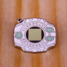 Digimon Digivice Harde Emaille Pin Gamer 'S Leuke Nostalgie Accessoire(China)