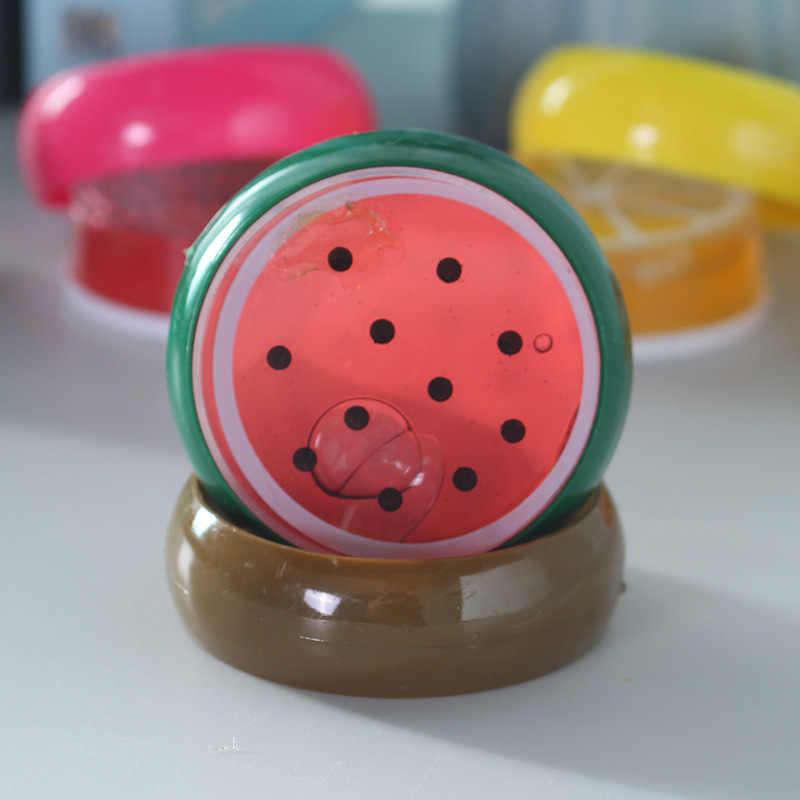 متوسطة الفاكهة الوحل لعبة المغناطيسي بوليمر كلاي اللون كريستال الوحل الطين شفاف ذكي اليد البلاستيسين لعبة للأطفال