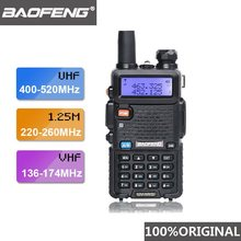2019 Baofeng UV-5R III double antenne talkie-walkie VHF 136-174Mhz/220-260Mhz et UHF 400-520Mhz radioscanner UV5R UV 5R(China)