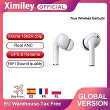 Ximiley mais novo tws 3 anc cancelamento de ruído ativo sem fio fones ouvido estéreo bluetooth fone pk i500 para iphone 12