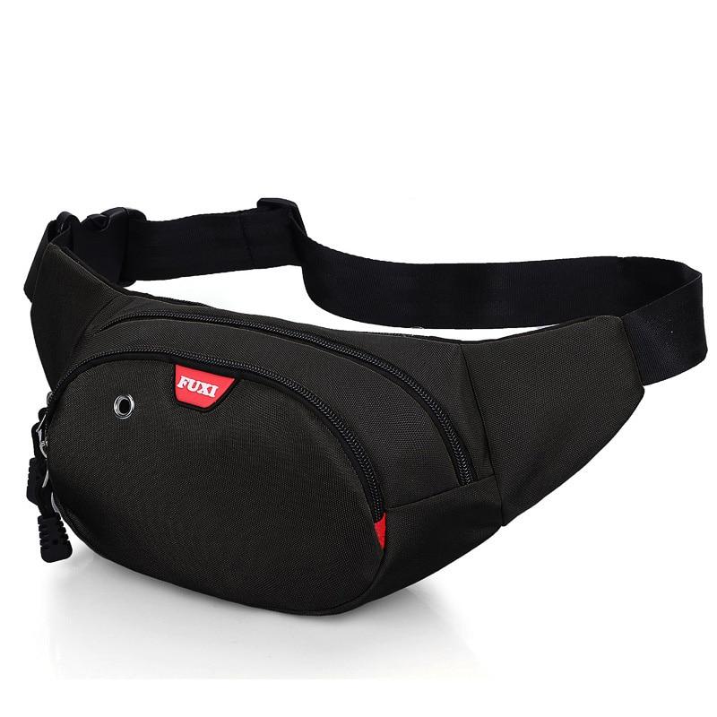 Men's Waist Bag Women Fanny Pack Oxford Waterproof Boy Belt Bags Canvas Moeny Belt Wallets Heuptas Fanny Pack