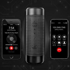 Image 3 - kebidu Portable Jakcom OS2 Outdoor Bluetooth Speaker Waterproof 5200mAh Power Bank Bicycle Subwoofer Bass LED light+Bike Mount