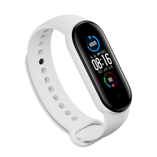цена на For Xiaomi 5 Smart Bracelet Silicone Watch Band Wristband Replacement Strap For MI Band 5Parts