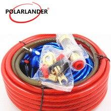 60 ампер держатель предохранителя 8GA кабель питания сабвуферный динамик 1500 Вт автомобильный аудио проводка усилитель монтажный комплект