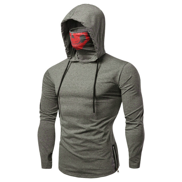 Pullover Hoodie with Mask 4