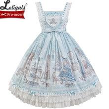 Lady's Room ~ Sweet Printed Lolita JSK Dress by Alice Girl ~ Pre-order