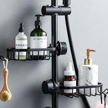Storage-Basket Organizer Rack-Holder Shampoo Soap Shower Bathroom Kitchen Single-Layer-Storage