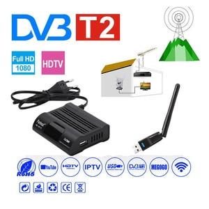 Image 3 - DVB HD 99 T2 Receiver Satellite Wifi Free Digital TV Box DVB T2 DVBT2 Tuner DVB C IPTV M3u Youtube Russian Manual Set Top Box