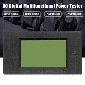 DC Digital Power Meter 6.5-100V LCD Voltage Current Watt Kwh Energy Meter Battery Testers PUO88