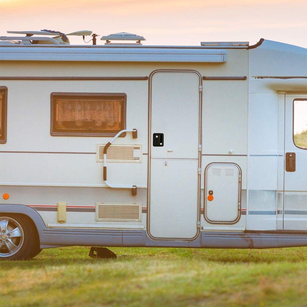2021 Caravan RV Travel Trailer Entry Door Lock Camper Door Latch Handle with Keys RV Door Lock Replacement for RV/Camper/Trailer