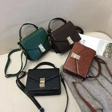 Fashion Stone pattern Leather Crossbody bag women handbags 2019 New Quality Ladies Designer Shoulder Messenger bags female Purse
